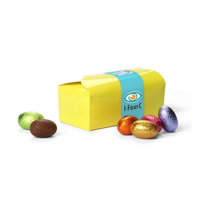 Bonbon doosje met paaseitjes - 170 gram