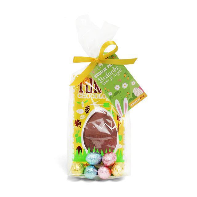 Tony's Chocolonely paasreep met chocolade eieren