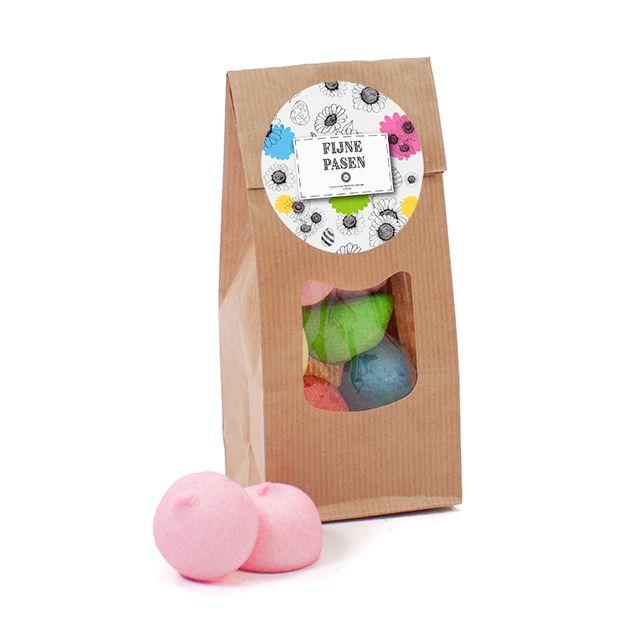 Papieren zakje met Paasspekbollen – medium