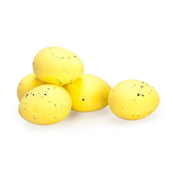 Kievitseitjes in kleur geel