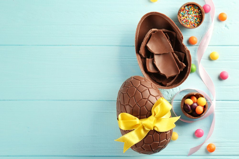 paasgeschenk chocolade