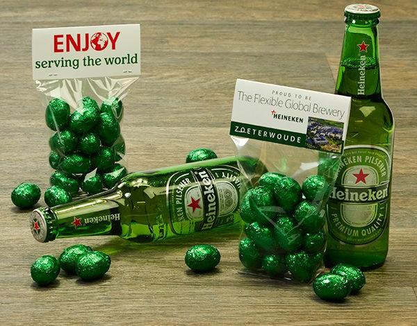 Paaseitjes voor Heineken